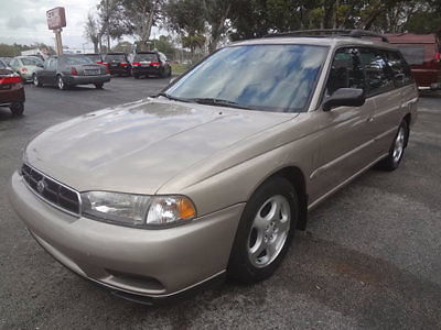 Subaru : Legacy 5dr L 30th Automatic DB Equip 1999 legacy l sports wagon sunroof 1 florida owner rust free very clean warranty