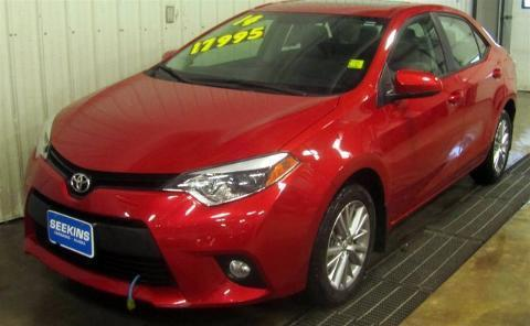 2014 TOYOTA COROLLA 4 DOOR SEDAN