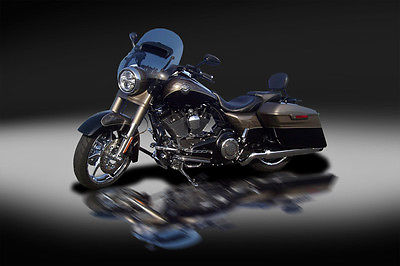 Harley-Davidson : Other 2014 harley davidson cvo road king only 4 973 miles loaded must read and see