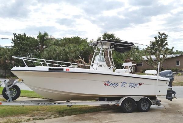 2001 Angler 2200 Grand Bay