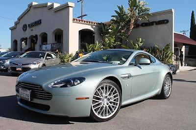 Aston Martin : Vantage 2010 california sage aston martin vantage navigation under 9 000 miles