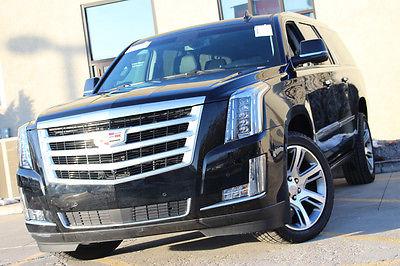 Cadillac : Escalade ESV Premium 4WD 2015 cadillac escalade esv premium 4 wd only 1 k mi don t miss