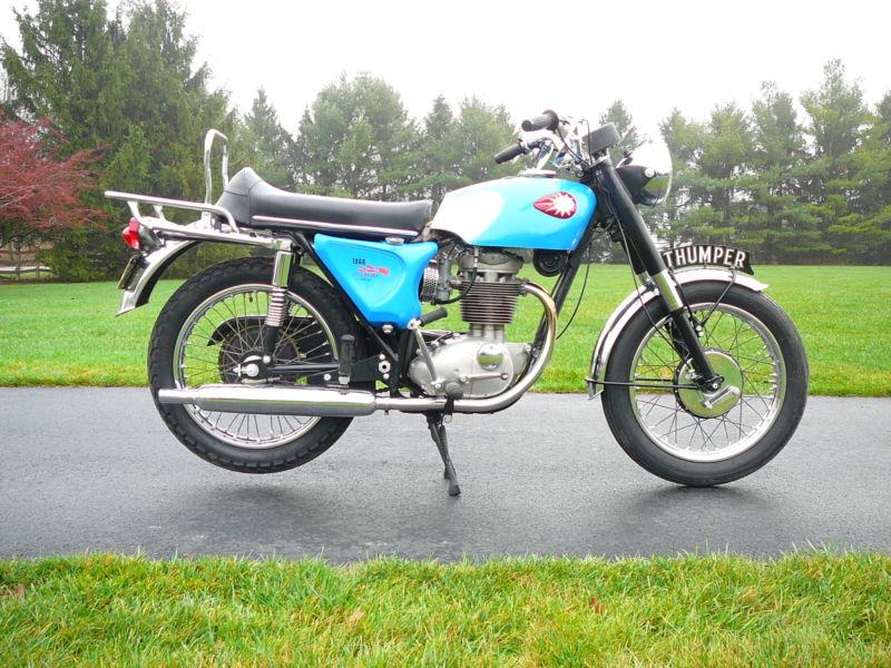 VINTAGE 1966 BSA STARFIRE B25/441CC SINGLE CYCLE