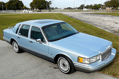 Lincoln Town Car Florida No Rust Accident Signature Sharp 4 6 L