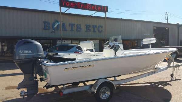 2016 Sportsman Boats Island Bay 20
