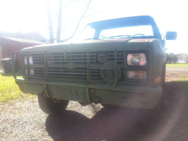 Chevrolet M1008 Cars for sale