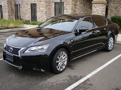 Lexus : GS 350 Base Sedan 4-Door 2014 lexus gs 350 only 4 k mi chrome wheels spoiler tint f sport front end