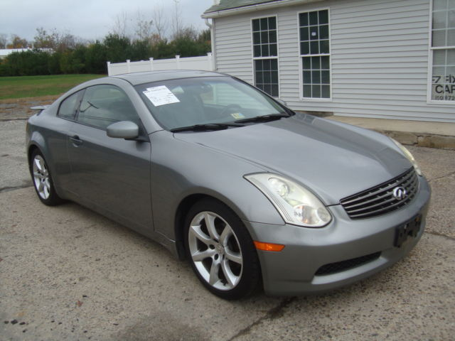 Infiniti : G35 G35 Coupe Navigation Bose Salvage Rebuildable Infiniti G35 Coupe Salvage Rebuildable Repairable Wrecked Project Damaged FIXER