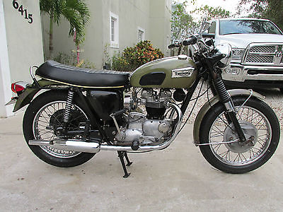 Triumph : Tiger 1970 triumph tr 6 r 650 tiger original condition mechanically restored
