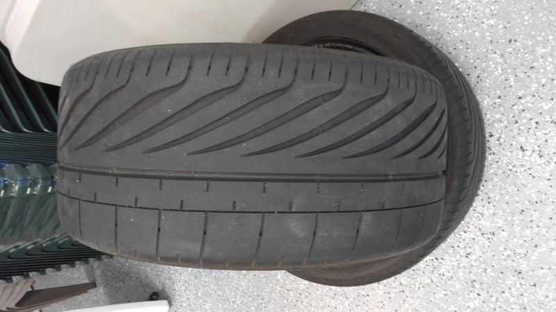 Two, P285/35ZR20 GoodYear Eagle F1 Performance Tires
