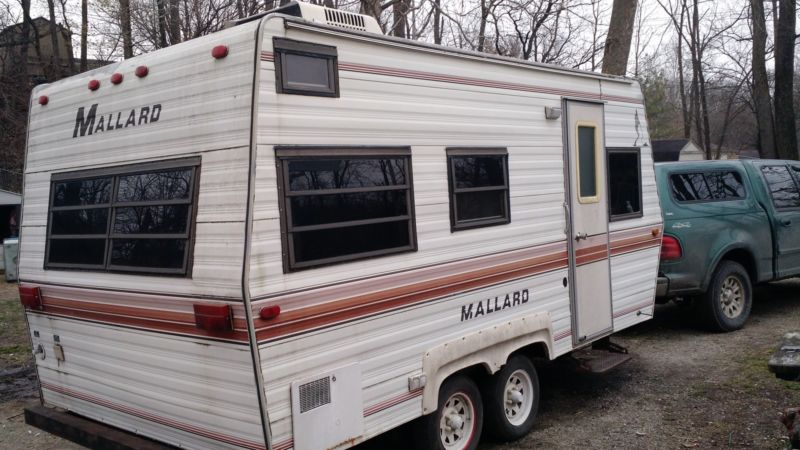 18 ft mallard camper