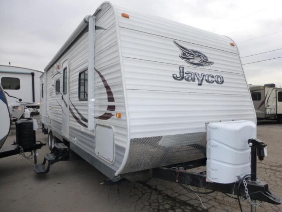 Elegant 2012 Jayco Jay Flight Swift SLX 145RB Travel Trailer For