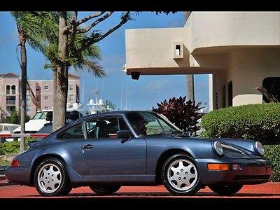 Porsche : 911 Carrera 4 BALTIC BLUE C4 ONLY $518.00 A MONTH 1990 BLUE LEATHER CARRERA 4 COUPE