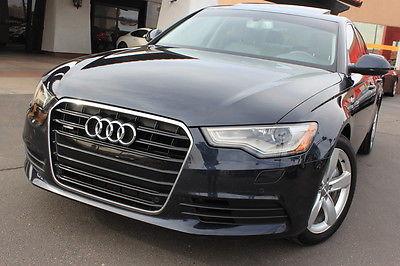 Audi : A6 3.0T Premium Plus 2012 audi a 6 premium plus midnight blue 3 l supercharged 1 owner clean car fax