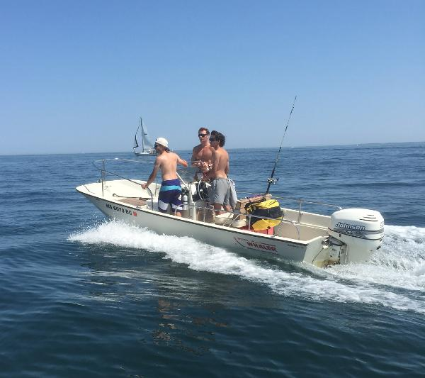 1984 Boston Whaler Montauk 17 CC