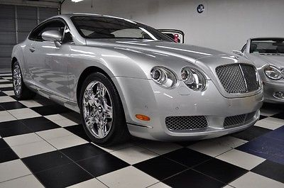 Bentley : Continental GT ONLY 11,758 MILES! PRISTINE CONDITION - VERY LOW MILES - CERTIFIED CARFAX - STUNNING !!!