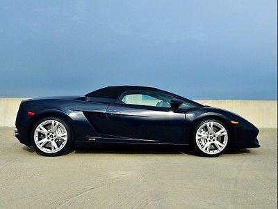 Lamborghini : Gallardo LP 560-4 Spyder 2010 lamborghini gallardo lp 560 4 spyder automatic 2 door convertible