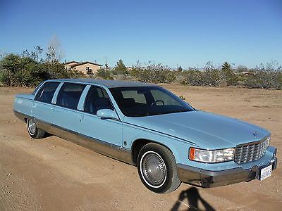 Cadillac: Fleetwood LIMO 1996 cadillac fleetwood limousine 9 passenger 31 758 original miles