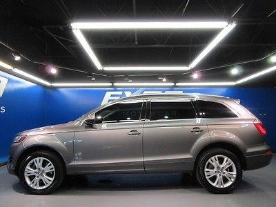 Audi: Q7 3.0T Premium Plus Audi Q7 3.0T Quattro Premium Plus 3rd Row Nav Cam Parking Sensors Nav Bose