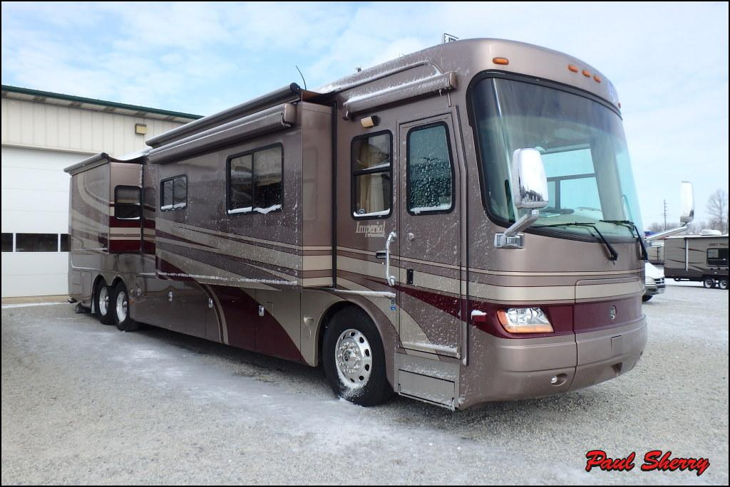 Holiday rambler imperial rvs for sale in ohio for Holiday rambler motor homes