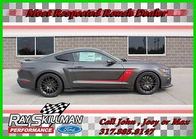 Ford: Mustang 15 ROUSH RS3 Stage 3 670HP Supercharged 2015 gt premium new 5 l v 8 32 v manual rwd coupe premium 15 2016 16