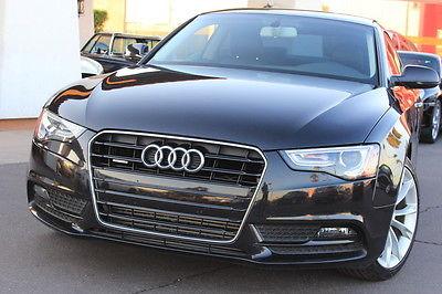 Audi: A5 2013 audi a 5 premium black on black turbo must see clean car fax