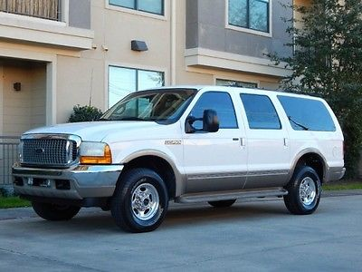 Ford : Excursion FreeShipping Excursion 7.3L Diesel 4X4 Limited 67K Miles!!! 1 OWNER! NEW TIRES! CREAM PUFF!!
