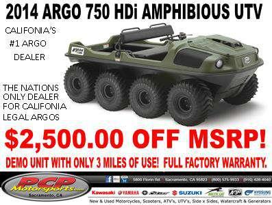 2014 Argo 8x8 750 HDi