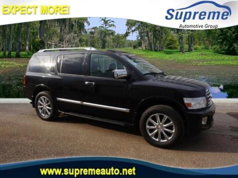 2010 INFINITI QX56 4 DOOR SUV