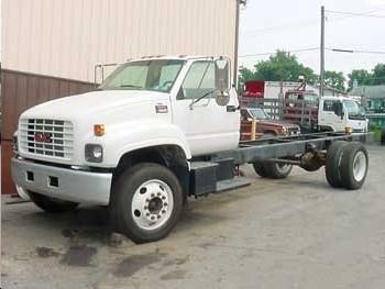 2001 Gmc C5500