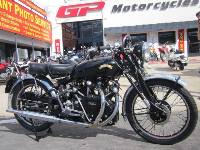 1951 Vincent Black Shadow Will Ship - More Classics @ GP!