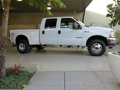 Ford : F-350 FreeShipping F-350 7.3L Diesel 4X4 Crew Cab Short Bed Dually Lariat 90K Miles! MINT CONDITION