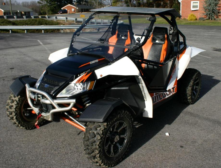 2013 arctic cat wildcat 1000 motos illimites edition exterior.