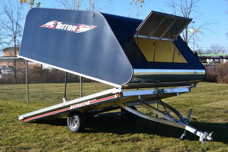2019 Triton Enclose Snowmobile Trailer Elite