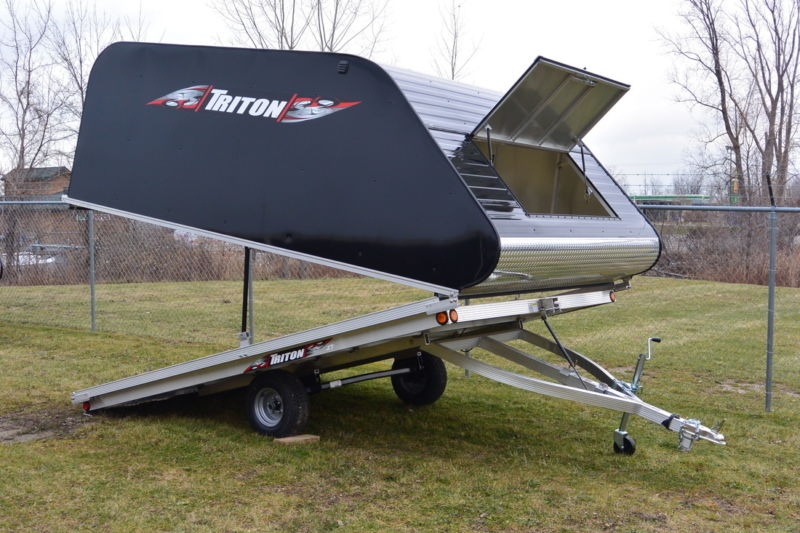 2016 Triton 12' Aluminum Snowmobile Trailer