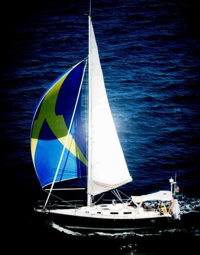 1996 Freedom 35 Sloop