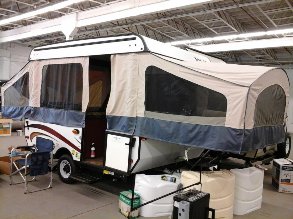 2015 Viking 2107LS EPIC POP UP CAMPER
