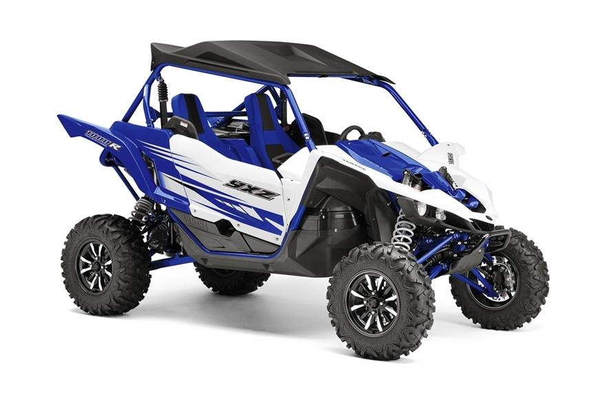 2016 Yamaha Grizzly EPS Steel Blue
