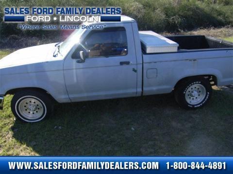 1992 Ford Ranger 2 Door Truck