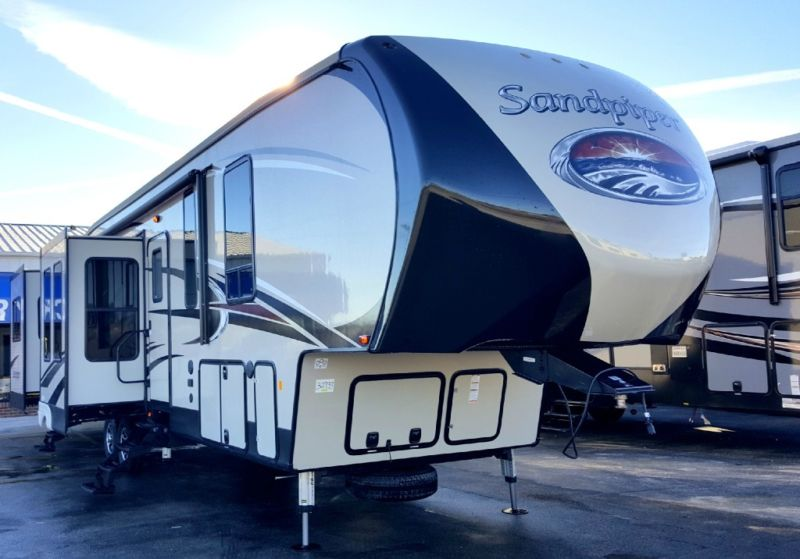 New 2016 Forest River RV Sandpiper 389RD with Lifetime Warranty