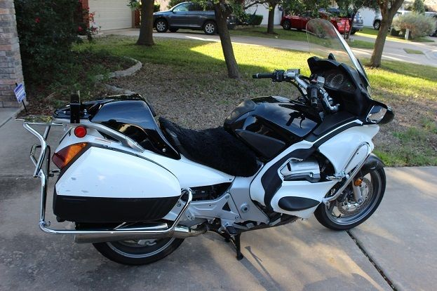 2005 Honda ST1300P police motorcycle