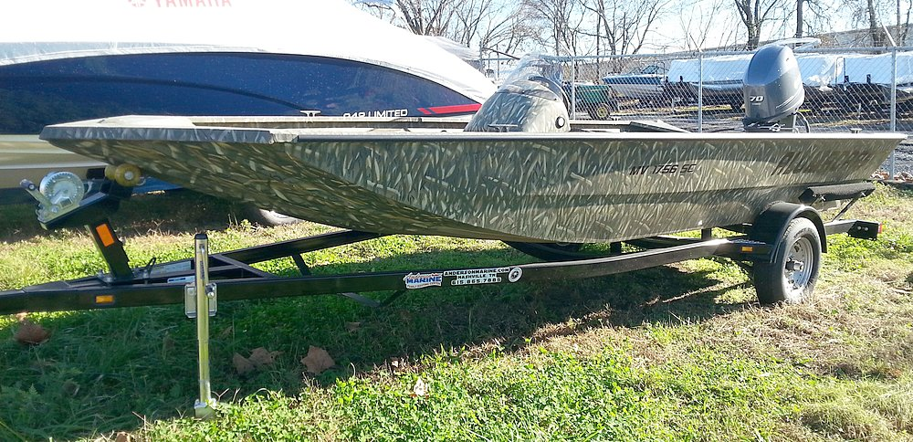 2015 Alumacraft MV 1756 AW SC LX Camo