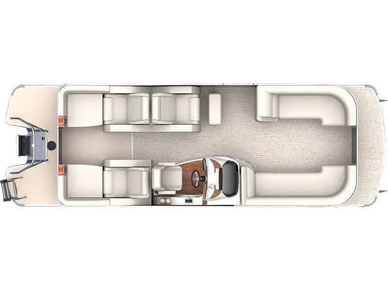 2015 Sanpan SP 2500 SLR Lounge