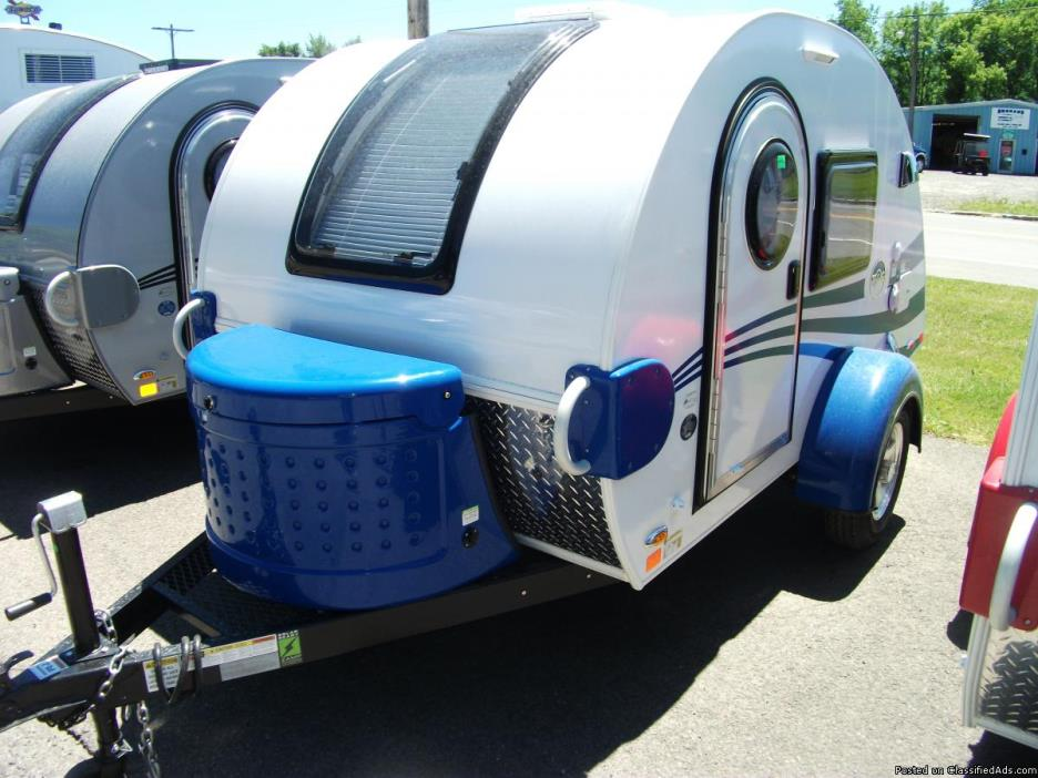 Brand new 2017 Blue T@G Teardrop camper by Little Guy ONLY 1000 lbs