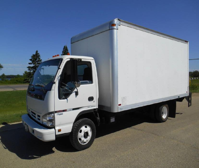 2006 Gmc W3500  Box Truck - Straight Truck