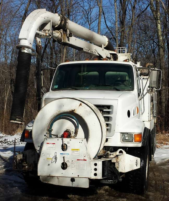 2006 Vac-Con V312lha/1300 Combination Sewer Cleaner Tanker Trailer