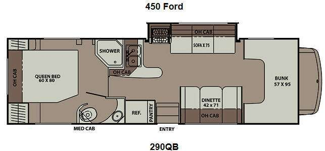 2013 Coachmen Rv Leprechaun 290QB Ford 450