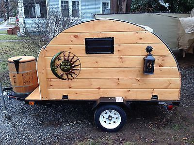 Home made Teardrop Camper And Utility Trailer
