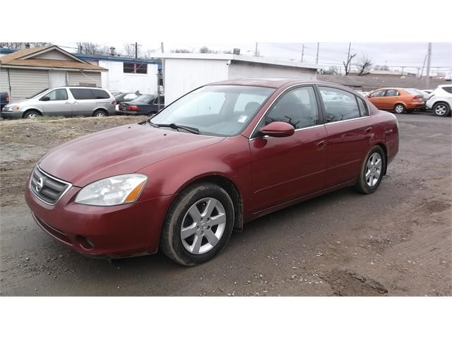 2003 Nissan Altima 4 Dr 2.5 Sedan
