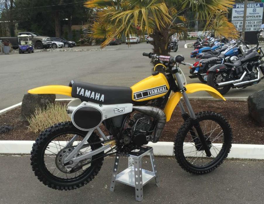 1980  Yamaha  YZ125